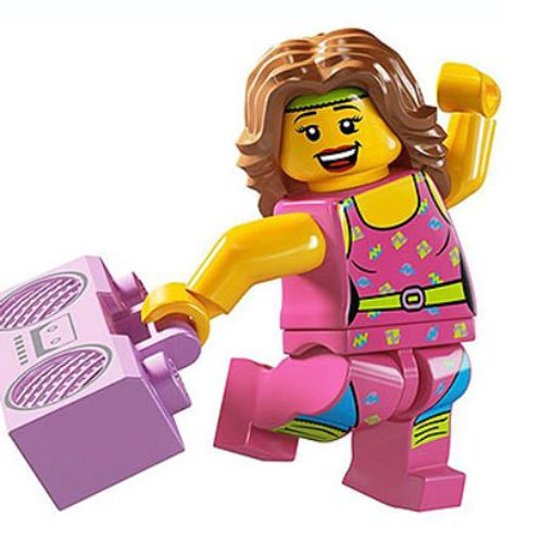 Lego Minifigür Seri 5 Fitness İnstructure No:10