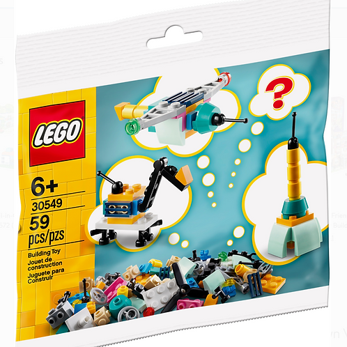 LEGO Classic Build Your Own Vehicles - Make It Yours 30549