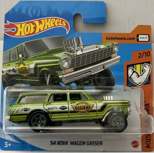 Hot Wheels '64 Nova Wagon Gasser