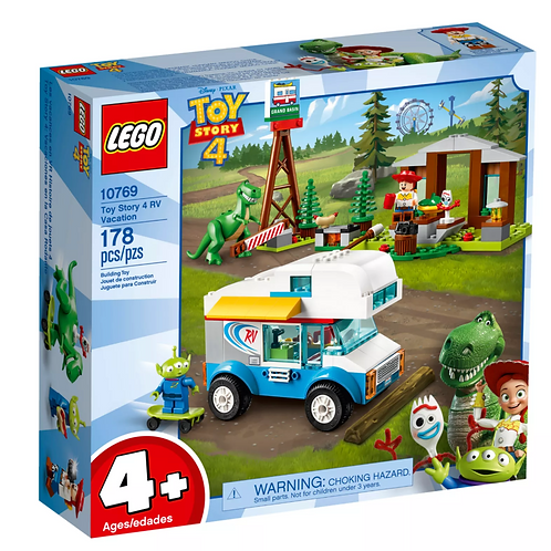Lego Juniors Toy Story 4 RV Vacation Price
