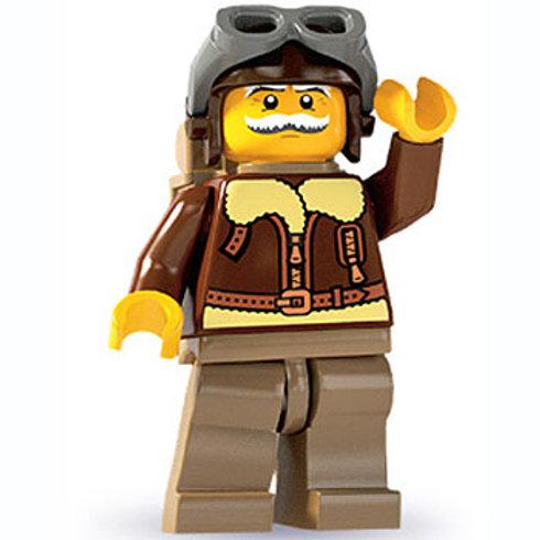 Lego Minifigür Seri 3 Pilot No:2