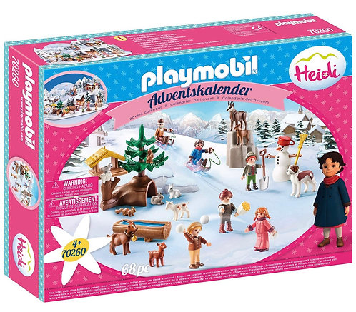 PLAYMOBIL 70260 Advent Calendar Heidi's Winter World - New 2020