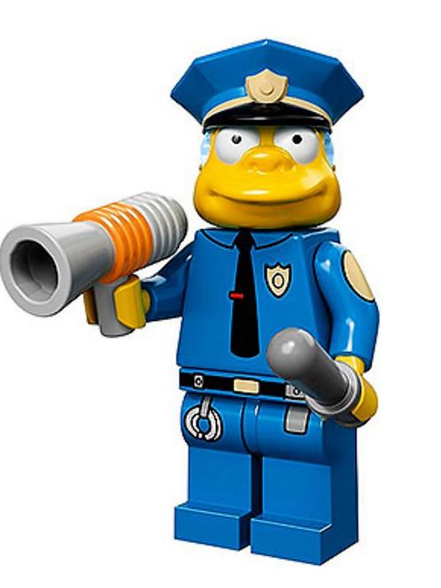 Lego Minifigür Simpsons Chief Wiggum No:15