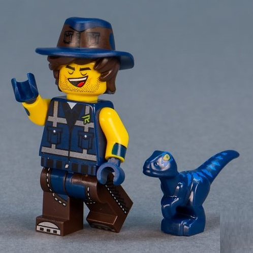 Lego Movie 2 Minifigure Series No:14 Vest Friend Rex