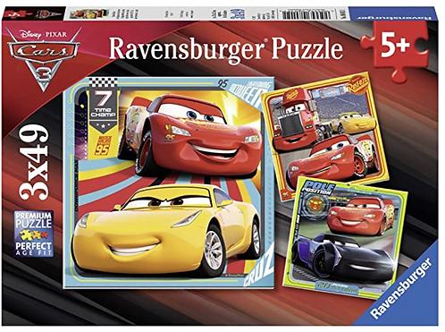 Ravensburger 3x49 (80151) Cars3