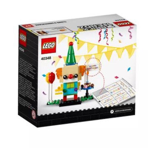 Lego Brick Headz 40348 Birthday Clown