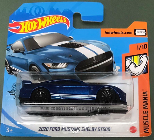 Hot Wheels 2020 Ford Mustang Shelby GT500