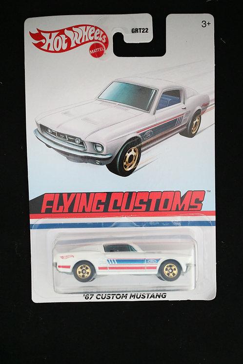 Hot Wheels Flying Customs '67 Custom Mustang