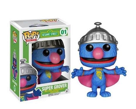 Funko Pop Sesame Street 01 Super Grover