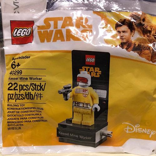 Lego Polybag 40299 Kessel Mine Worker Minifigür