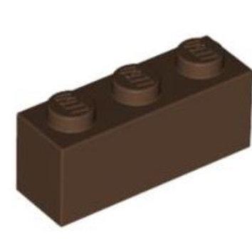 Part 3622 Brick 1 x 3 Brown