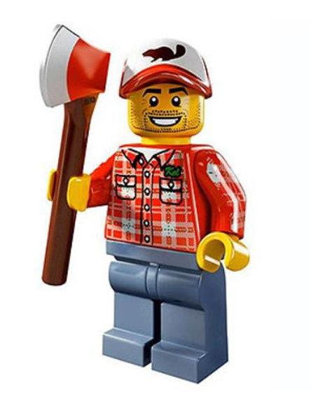 Lego Minifigür Seri 5 Lumberjack No:8