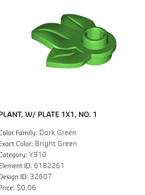 Plant Plate 1x1