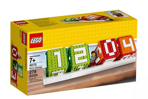 LEGO® Iconic Brick Calendar 40172