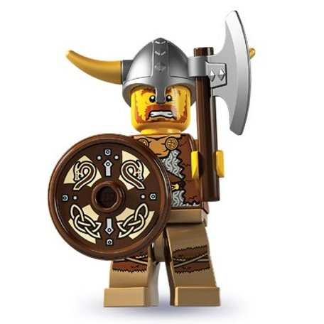 Lego Minifigür Seri 4 Viking