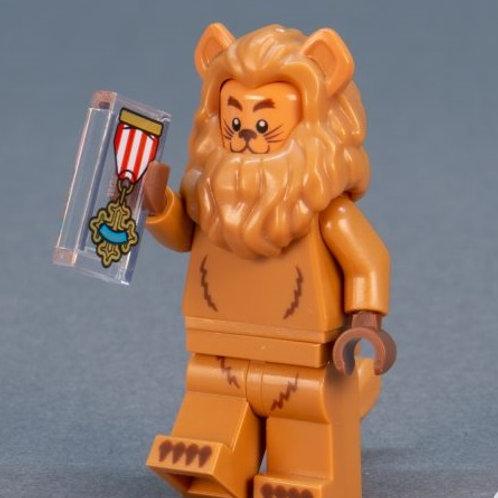 Lego Movie 2 Minifigure Series No:17 Cowardly Lion