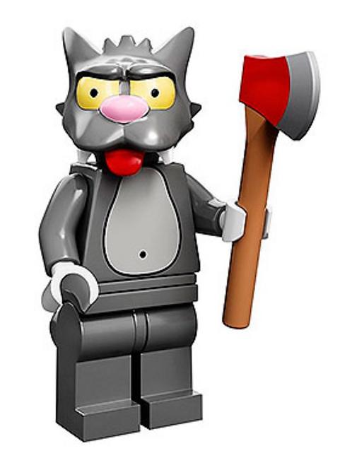 Lego Minifigür Simpsons Scratchy No:14