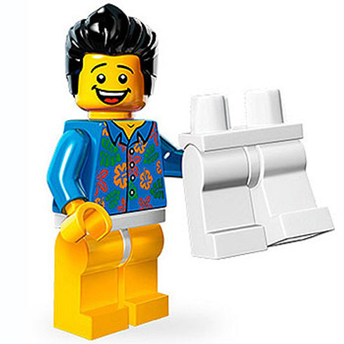 "Lego Minifigür Movie Seri ""Where are my Pants?"" Guy"