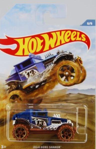 Hot Wheels Baja Bone Shaker Off Road Trucks 6/6
