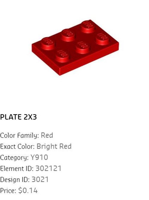 Plate 2x3