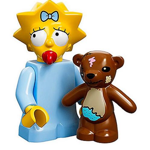 Lego Minifigür Simpsons Maggie Simpson No:5