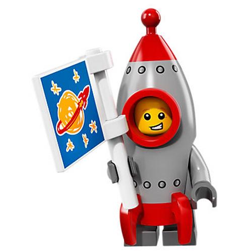 Lego Minifigür Seri 17 Rocket Boy