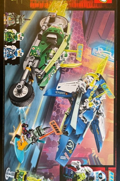 OUTLET - LEGO Ninjago Jay and Lloyd's Velocity Racers 71709
