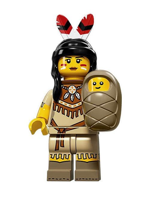Lego Minifigür Seri 15 Tribal Woman