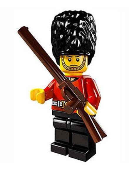 Lego Minifigür Seri 5 Royal Guard No:3