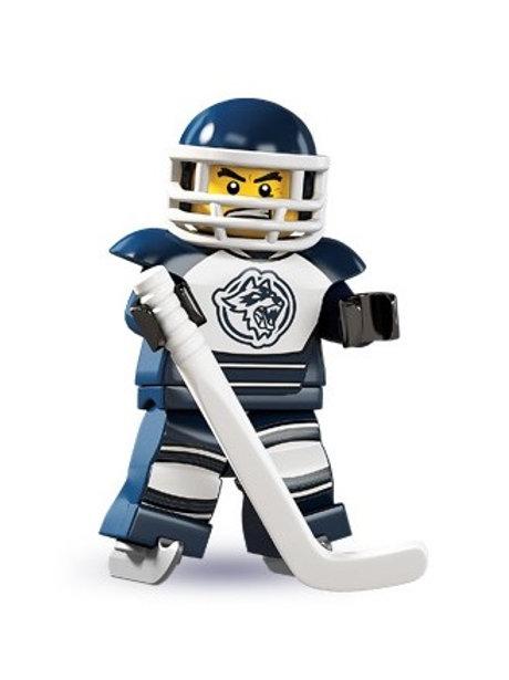 Lego Minifigür Seri 4 Hockey Player