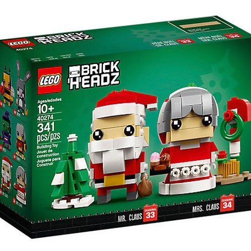 Lego Brickheadz 40274 Mr. & Ms. Santa Claus