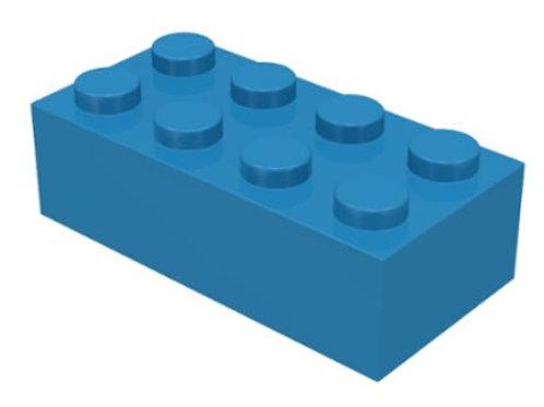 Part 3001 Brick 2 x 4 Dark Azure