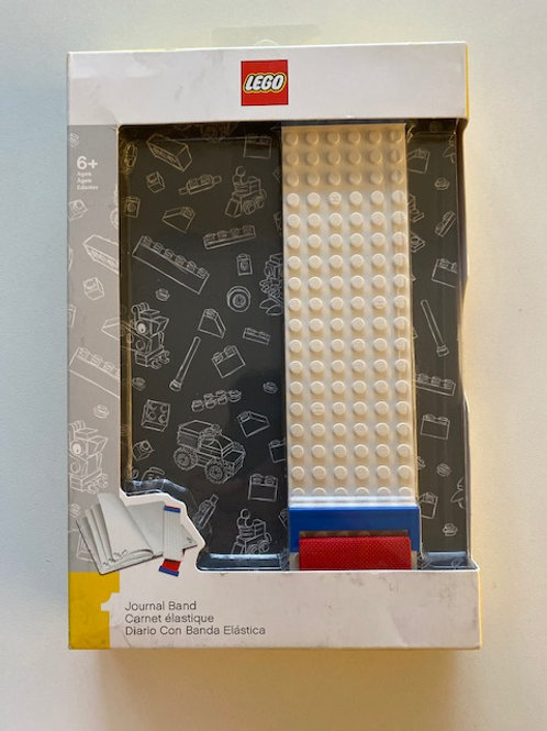 LEGO Stationery - Journal with Band and Building Bricks