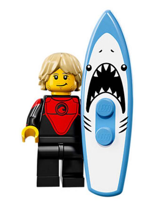 Lego Minifigür Seri 17 Professional Surfer