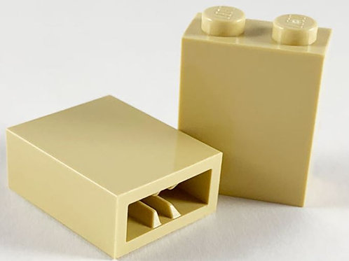 Part 3245b Brick 1 x 2 x 2 with Inside Axle Holder