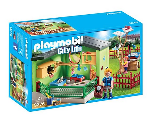 Playmobil 9276 City Purrfect Boarding