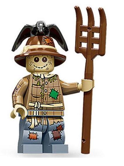 Lego Minifigür Seri 11 Scarecrow No:2