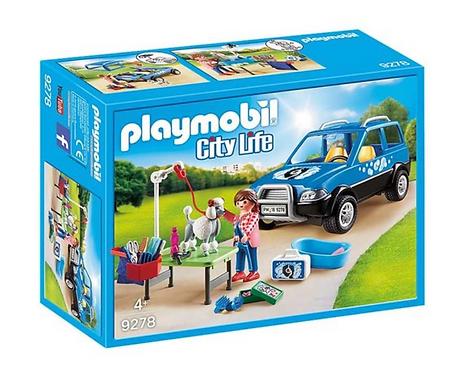 Playmobil 9278 City Mobile Pet Groomer
