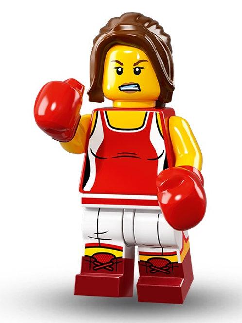 Lego Minifigür Seri 16 Kickboxer