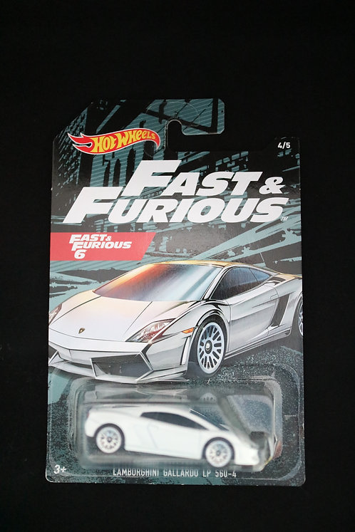 Hot Wheels Fast & Furious 6