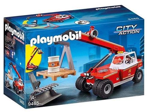Playmobil City Fire Crane 9465