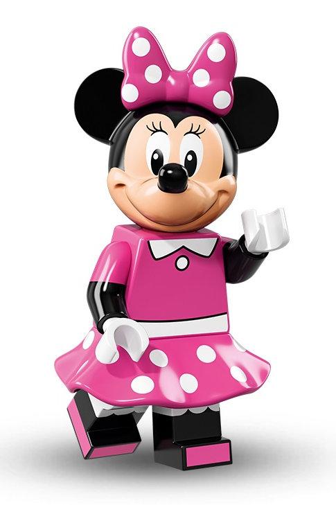 Lego Minifigür Disney Minnie Mouse
