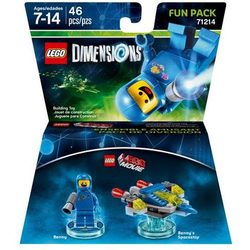 Lego Dimensions 71214 LEGO Movie Benny Fun Pack