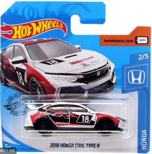 Hot Wheels 2018 Honda Civic Type R