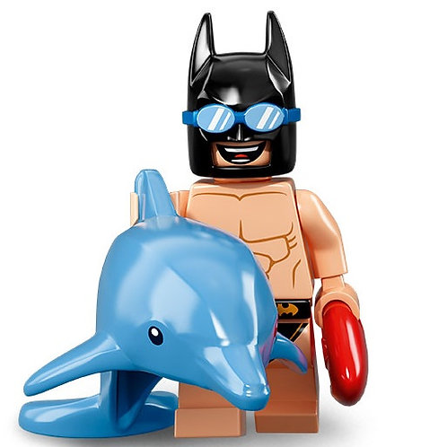 Lego Minifigür Batman 2 Seri Swimsuit Batman