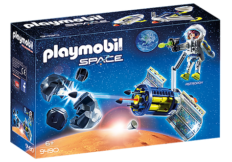 Playmobil 9490 Satellite Meteoroid Laser