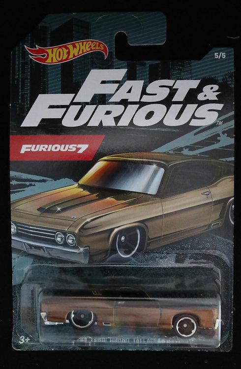 Hot Wheels Fast & Furious 7