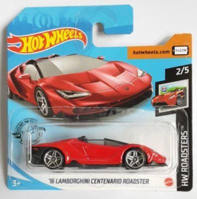 Hot Wheels '16 Lamborghini Centenario Roadster