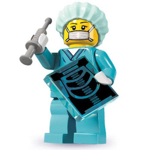 Lego Minifigür Seri 6 Surgeon