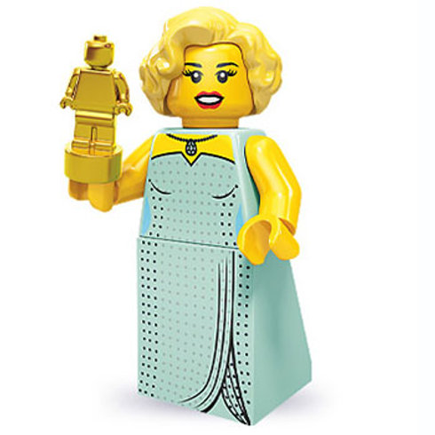 Lego Minifigür Seri 9 Hollywood Scarlet No:3